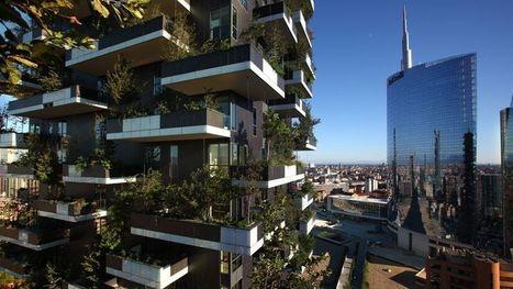 À Milan, un hectare de forêt planté sur deux tours | Géographie : les dernières nouvelles de la toile. | Scoop.it