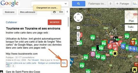 Insérer KML Mes adresses dans une carte API Google Maps JavaScript version 3 | Web mobile code | Scoop.it