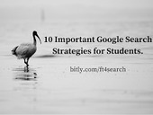 10 Important Google Search Strategies for Students - A PDF Handout | Moodle and Web 2.0 | Scoop.it