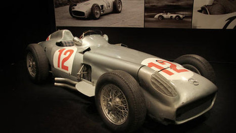 Juan Manuel Fangio's Grand Prix-winning Mercedes heads to auction | RichDubai | Scoop.it