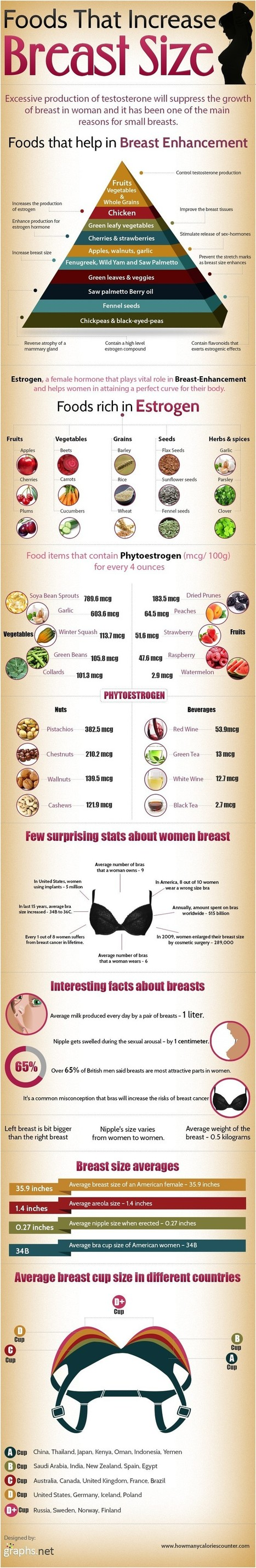 How To Increase Breast Size in a Natural Way? | All Infographics | The Best Infographics | Scoop.it