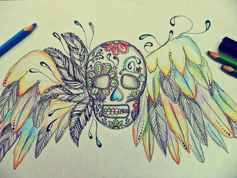 skull drawing | the different types of Art | Scoop.it