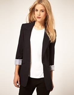 ASOS Boyfriend Blazer | I don't do fashion, I am fashion | Scoop.it