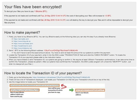 DMA Locker 4.0 – Known Ransomware Preparing For A Massive Distribution | Informática Forense | Scoop.it