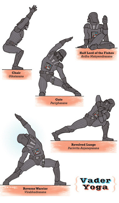 Star Wars Yoga | Amazing Geeks | Scoop.it