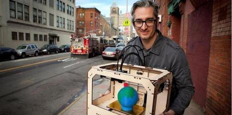 Imprimantes 3D : déjà, le rachat de MakerBot | Jisseo :: Imagineering & Making | Scoop.it