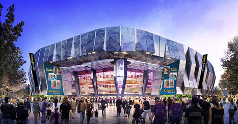 The Highest-Tech Stadium in Sports Is Pretty Much a Giant Tesla | future of marketing | Scoop.it