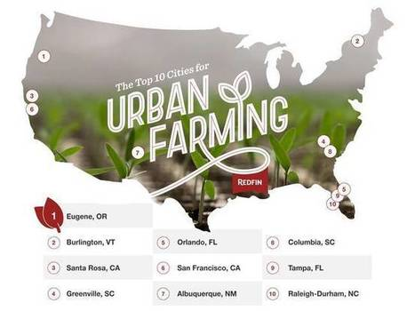 Top 10 US cities for urban farming | Vertical Farm - Food Factory | Scoop.it