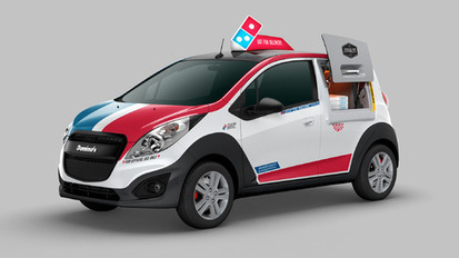 Domino's Creates Its Own Delivery Car With GM, Google Partner - Bloomberg Business | A Drunk Designer | Scoop.it