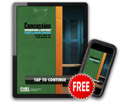 Concussion Recognition & Response™ It's an app...