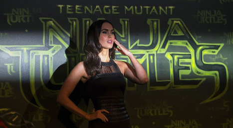 Megan Fox at Teenage Mutant Ninja Turtle Berlin Premiere | Showbiz | Scoop.it