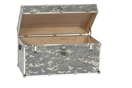 Camouflage Trunk - Trunks Depot | Quality Trunks, Footlockers and Luggage | Scoop.it