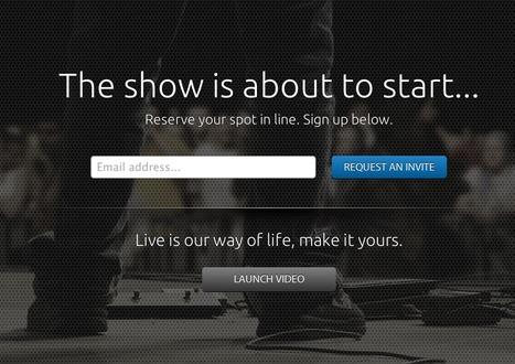 Live Concert Streaming Platform EVNTLIVE Begins Offering Invitations | The Shape of Music to Come | Scoop.it