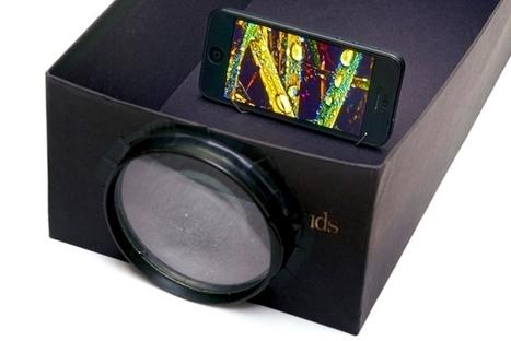 Cómo hacer un proyector para tu smartphone | Pedalogica: educación y TIC | Scoop.it