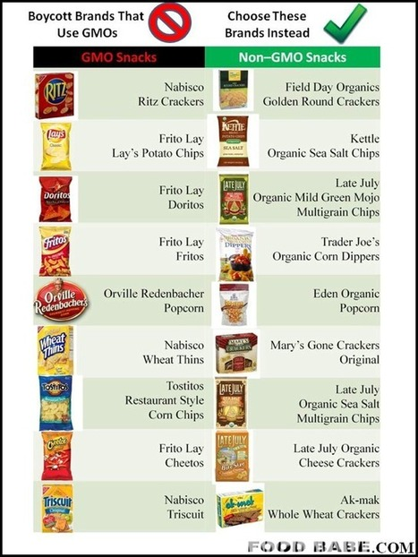 Do Your Favorite Snack Brands Contain GMOs? - Food Babe | Gov&Law Justin Kettner | Scoop.it