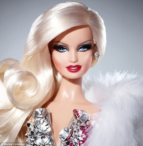 Introducing 'drag queen' Barbie! Mattel models its latest doll on cross-dressing designer from fashion label The Blonds | Barbie's Body: Art, Fashion & Jewellery | Scoop.it
