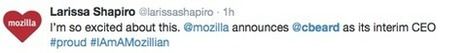 Mozilla Makes Marketing Chief Interim CEO - SiteProNews | Digital-News on Scoop.it today | Scoop.it