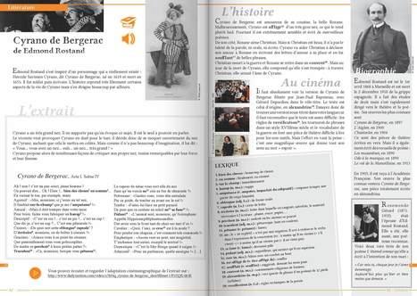 """Un classique à découvrir ou redécouvrir """"Cyrano de Bergerac"""" Edmond de Rostand   Remue-méninges FLE   Scoop.it"""
