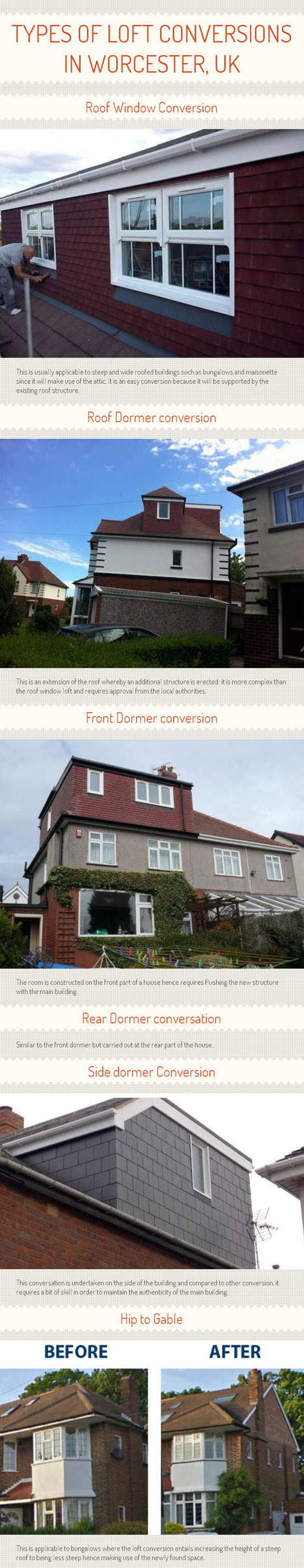 Types of Loft Conversions in Worcester, UK [INFOGRAPH] | loftconversionsspecialist | Scoop.it