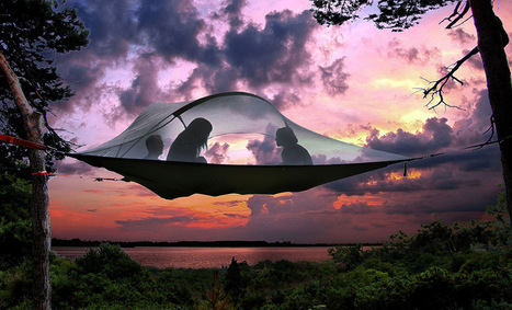 Sleep in the Trees Inside a Portable Suspended Treehouse by Tentsile | Heron | Scoop.it
