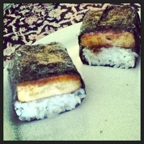 Vegan Musubi with Coconut Rice Recipe - Go Dairy Free | My Vegan recipes | Scoop.it