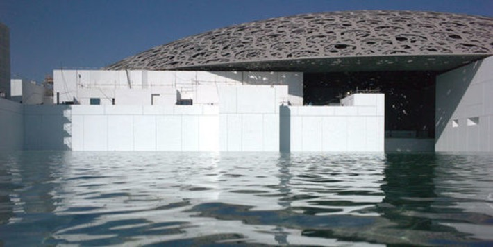 Le Louvre Abu-Dhabi, colosse en chantier | Le Monde | Kiosque du monde : A la une | Scoop.it