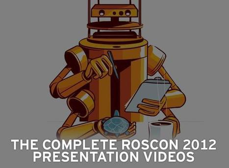 Robotics eMagazine - The Complete ROSCon 2012 Presentation Videos   RoboticsTomorrow   Robotic applications   Scoop.it