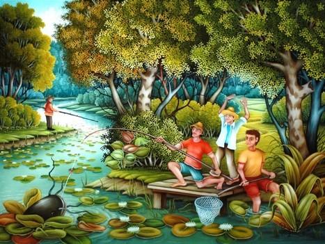 6e Exposition Art Naïf -Verneuil sur Avre (Eure) | Les colocs du jardin | Scoop.it