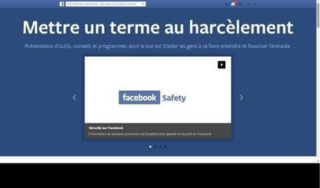 Harcèlement entre ados : Facebook ouvre un site de prévention | alexfromdijon | Scoop.it