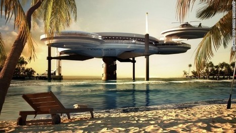 Space-age underwater hotel planned for Maldives | Lauri's Environment Scope | Scoop.it