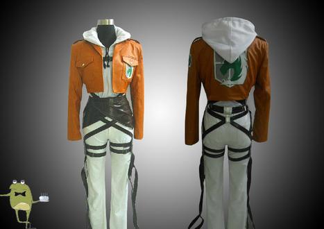 Shingeki no Kyojin Annie Leonhardt Cosplay Costume + Wig | Attack on Titan Cosplay Costumes | Scoop.it