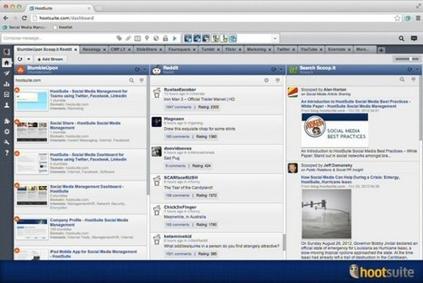 HootSuite adds Scoop.it, StumbleUpon and reddit to App Directory - Examiner.com | Social Media with Coffee | Scoop.it