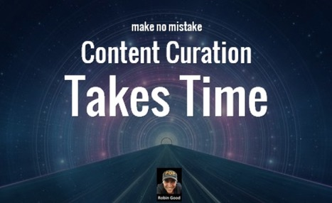 Content Curation Takes Time | Social media enabling connected learning | Scoop.it