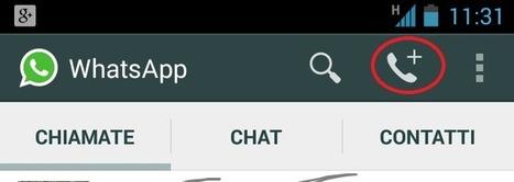 Telefonare con Whatsapp ... finalmente | Social Media Consultant 2012 | Scoop.it