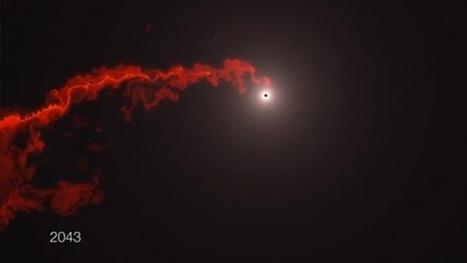 Incertidumbre ante el inminente choque de un agujero negro y una enorme nube de gas | Bioética | Scoop.it