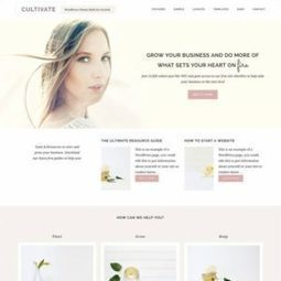 Restored 316 Cultivate : Genesis WordPress Theme for Business | WordPress Themes Review | Scoop.it