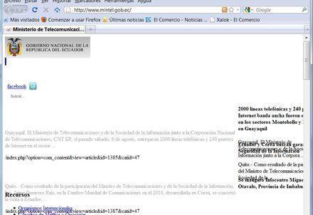 El Ministerio de Telecomunicaciones con ataque de Doos | Anonymous Ecuador | Scoop.it