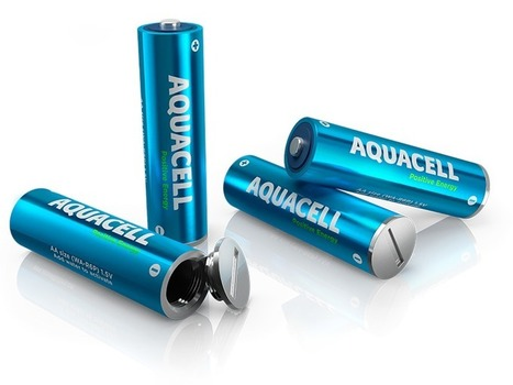 AquaCell : La pile écologique chargeable à l'eau en 5 minutes | Innovation and creativity | Scoop.it