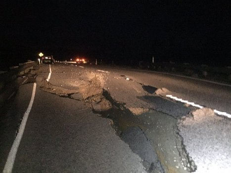 Two dead as huge quake rocks New Zealand | SAMAA TV | Path Happiness | Scoop.it