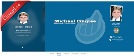 Make Your Social Media Profiles Stand Out | Michael Pingree's Facebook Report | Scoop.it
