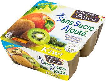 Nouvelle compote Pomme Kiwi Charles et Alice (et pomme Mûre) | Produits de France | Scoop.it