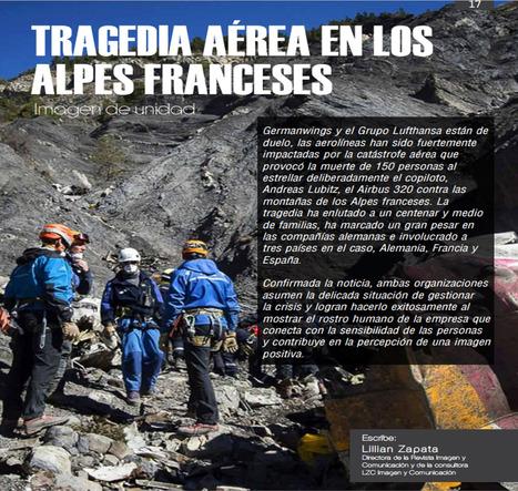 Tragedia aérea en los Alpes franceses. Imagen de unidad / Lillian Zapata | Comunicación en la era digital | Scoop.it