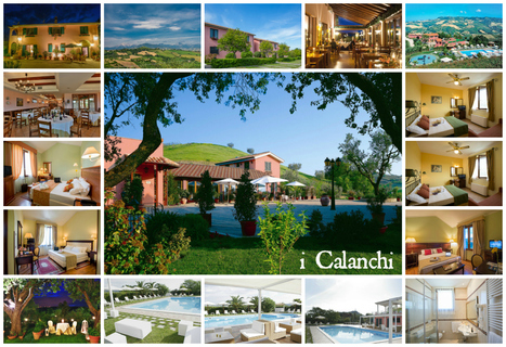 Best Le Marche Accommodations: I Calanchi, Ripatransone | Le Marche Properties and Accommodation | Scoop.it