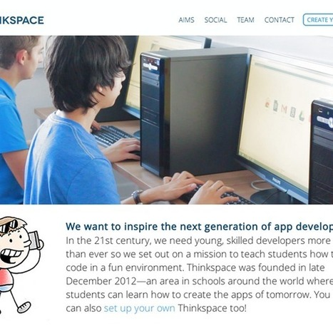 16-year-old aims to build drop-in coding 'Thinkspaces' in schools | Regenerating IT | Scoop.it