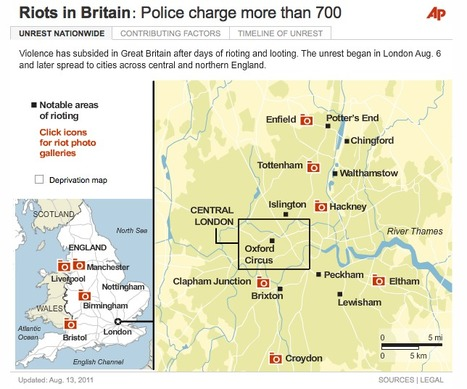 UK using facial recognition to hunt rioters - CBS News | London riots maps | Scoop.it