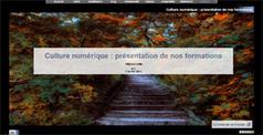 6 formations gratuites : exposé, carte, multimédia, blog, collaboratif, réseau et 3 modules propriétés et culture numérique et littérature | | WEB 2.0 | Scoop.it