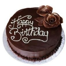 Choco Roses Birthday Cake - Cakes | Trendy Dresses | Scoop.it