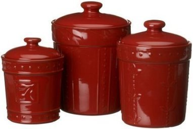 Signature Housewares Sorrento Set of 3 Canisters | Kitchen Canister Sets | Scoop.it