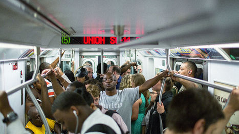 Does The New York Subway Know The 9 To 5 Is Dead? | Future Thinking | Scoop.it