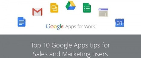 Top 10 Google Apps tips for Sales and Marketing users | SEO, Social Media & PPC | Scoop.it